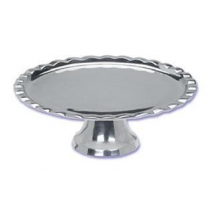 Shiny Decorative Aluminum Cake Stand