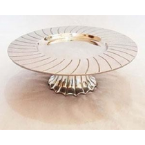 Side Layered Aluminum Cake Stands