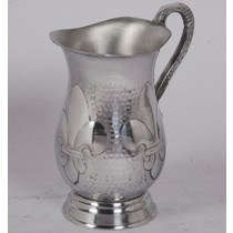 Brass Silver Metal Decorative Water Jug