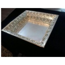Silver Plated Tray (B)