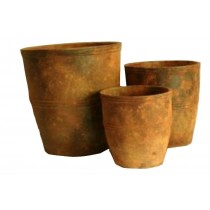Simple Design 35 cm Height Cement Planters