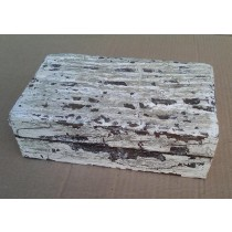 Simple Wooden Box Whitewashed Design 8'' x 5'' x 2.5''