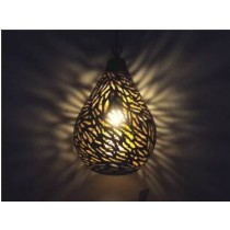 Small Size Balloon lamp-zebra etching