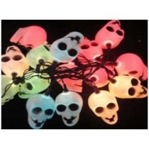 solar Halloween ghost string light