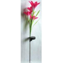 solar powered decoration garden flower light-4 Lilly