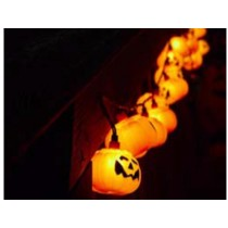 solar pumpkin string lamp