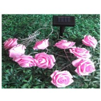 solar rose sting lights