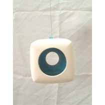 Square Ceramic Hanging Candle Holder