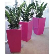 Curvy Square Planters Size 39 cm X 74 cm