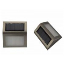 stainless steel and plastic material outdoor solar light