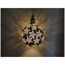 Star design ball hanging lamp size-20""