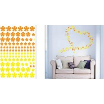 Wall sticker, size W50 x L70cm