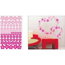 wall stickers, size W 50 x L 70 cm