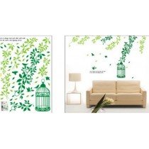 Wall sticker, size W 50 x L 70cm