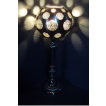 Table Lamp with  Tall Base  Size:  20X20X51 cm