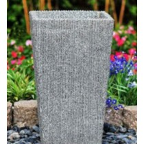 Tall Tapered 33cm Stone Planter