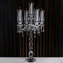 Tall Wedding Centerpiece 5 Arms Candelabra