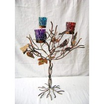 Tree Designed Votive Candle Holder