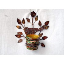 Tree Designed Wall Hanging Votive Holder