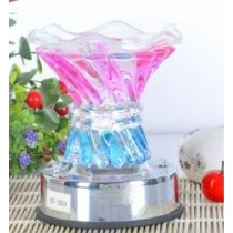 Twister Crystal Aroma Lamp with LED