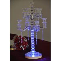 Unique Wedding Table Crystal Candelabras