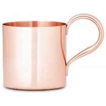 Beautiful shape copper mug