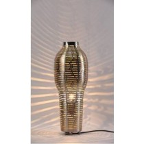 Vase shape with lines cut Etch
