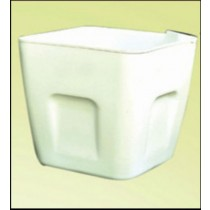 White Finish 23.5 cm Self Watering Planter