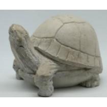 White Turtle Garden Statue