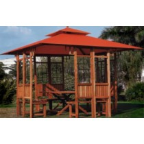 Wooden Frame Gazebo