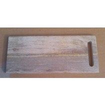 Wooden Shaded Rectangle Chopping Board 18'' x 8''