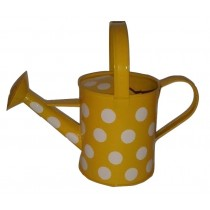 Yellow Color Polka Dots Watering Can