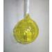 Yellow Glass Globe Hanging Christmas decor