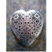 Heart Metal Christmas Hanging Size-19.5x2x20 cms