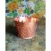 Metal Votive Candle Holder   Size - 10x10cms.