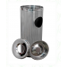 "Conical Round bins -(SIZE-8"" X 28"")"