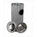 "Conical Round bins (SIZE-10"" X 28"")"